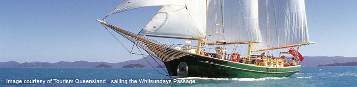 sailing whitsundays passage