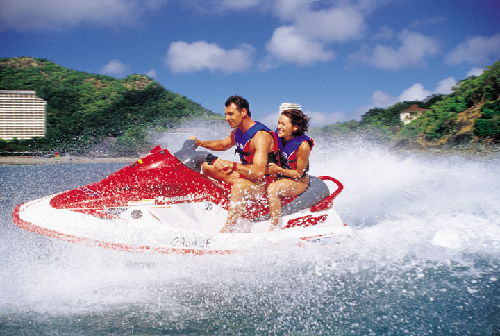 Jet Skiing at Catseye Bay - Picture Tour