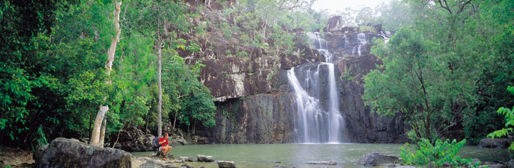 Cedar Creek Falls near Proserpine - Picture Tour