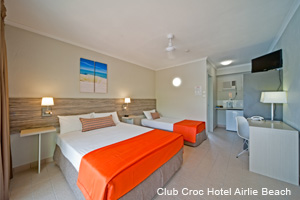 Club Croc Hotel Family Room