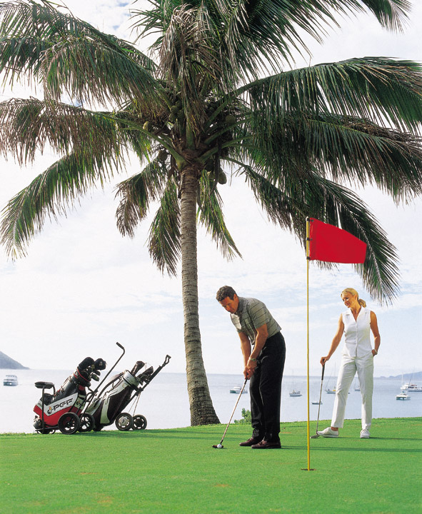 Golf at South Molle Island - Picture Tour