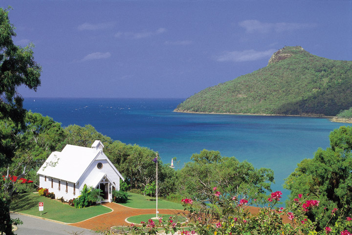 Hamilton Island Church - Picture Tour