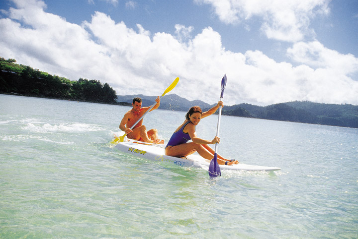 Hamilton Island Surf Skiing - Picture Tour
