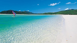 Whitsunday Islands and Whitehaven Beach Half Day Cruise