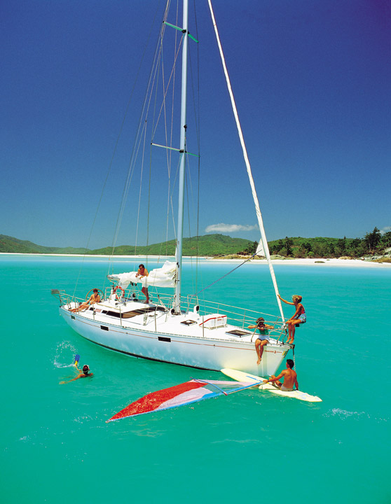 Windsurfing the Whitsundays